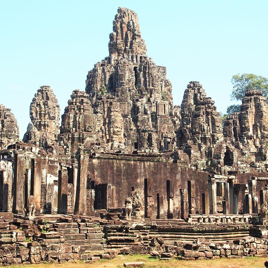angkor temple bayon