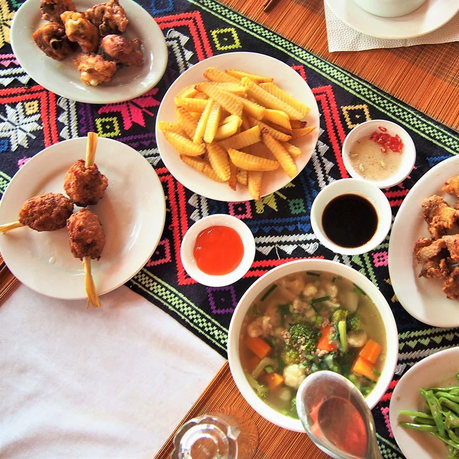 vietnam mai chau homestay cuisine