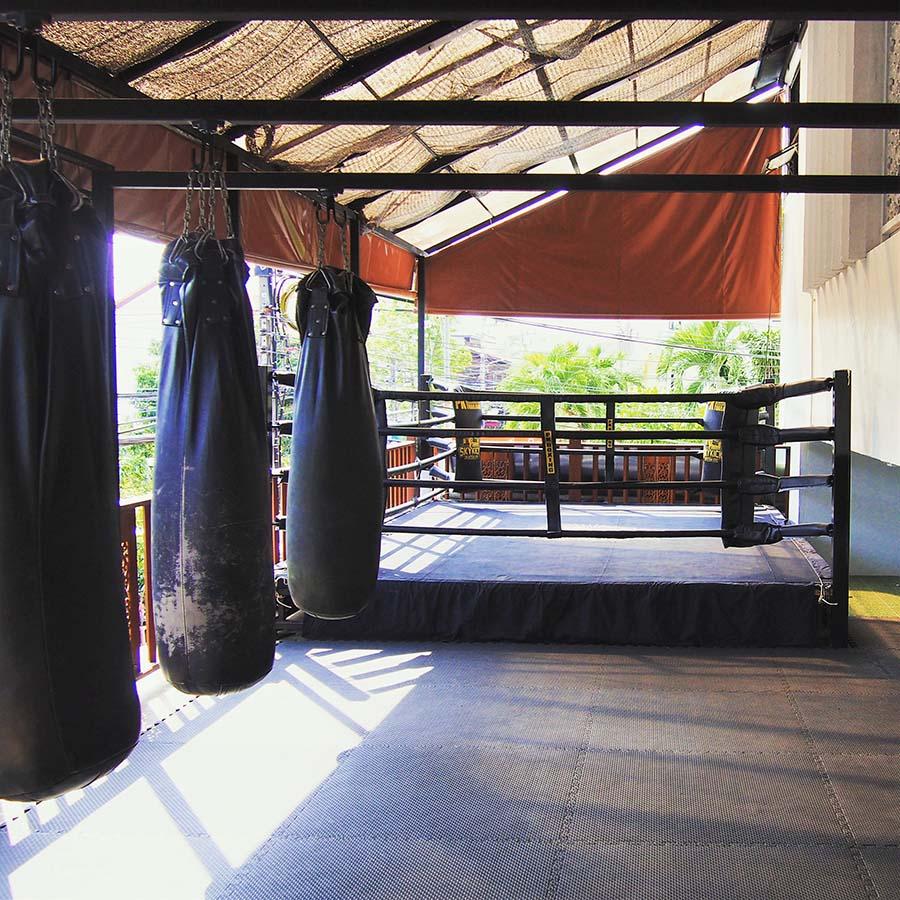 thailande chiang mai skykick muaythai gym