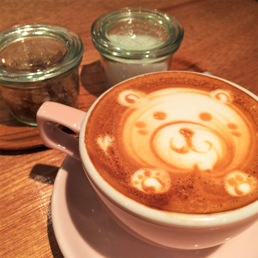 japan art latte